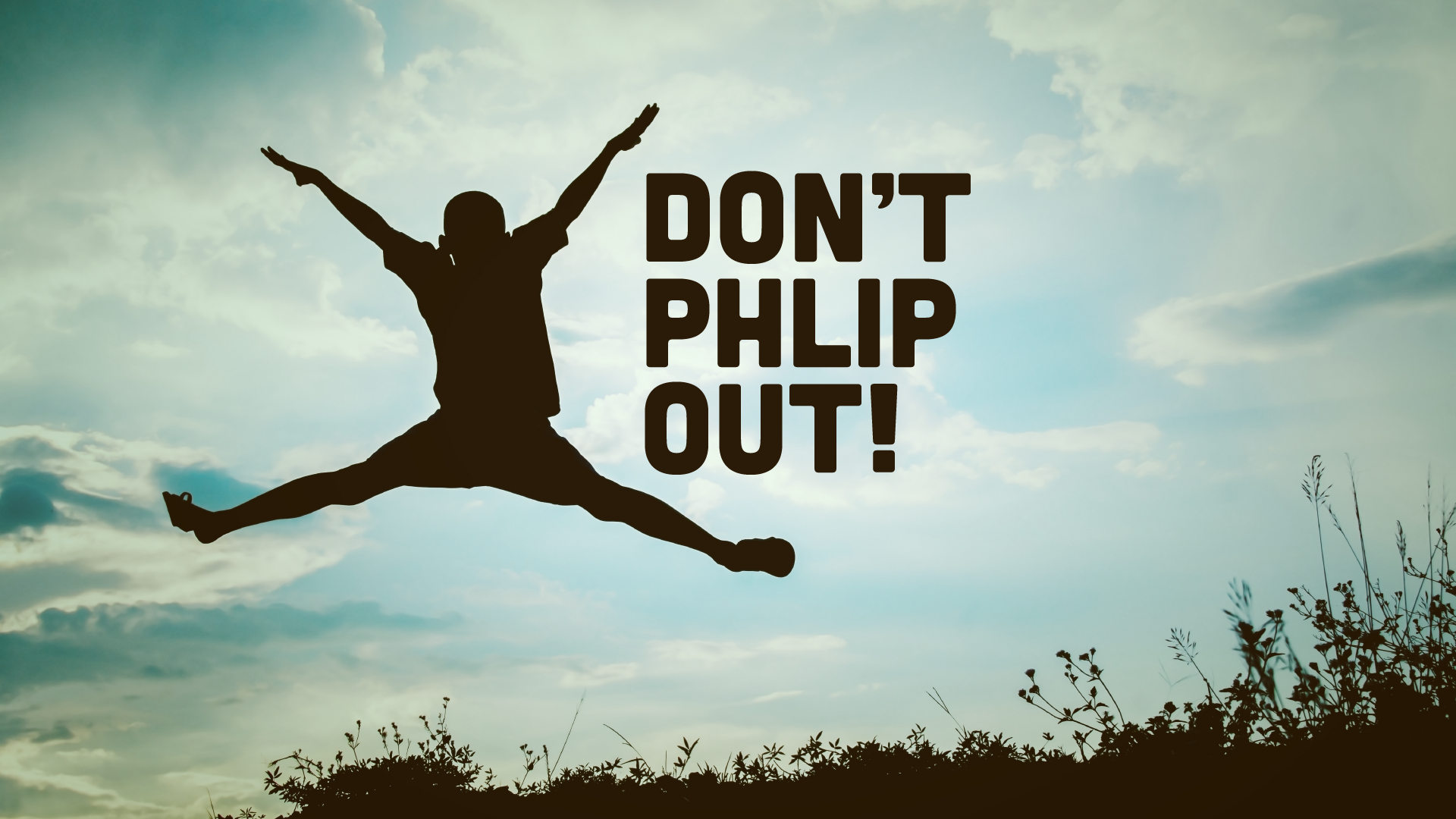 Don't Phlip Out! (Kids Series)
