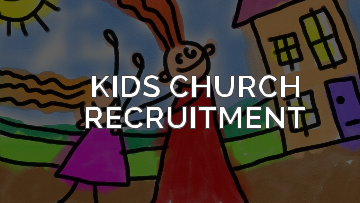 How to Recruit For Kids Church