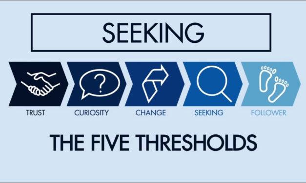 The Fourth Threshold: Seeking | The Five Thresholds #5