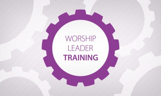 Worship Leader Training