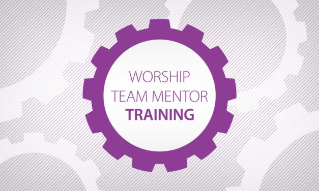 Worship Team Mentoring