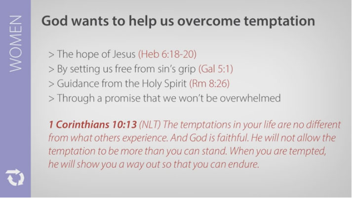 How to Overcome Temptation (For Women)