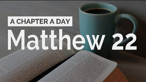 Matthew 22: The Greatest Commandment